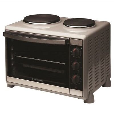Russell Hobbs Compact Oven 2 Hotplates 1600W RHTOV2HP