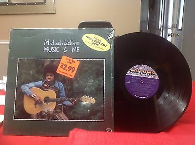 Lp Record Album The One And Only Michael Jackson  Music & Me of