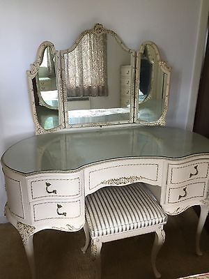 Original French Louis Antique  Solid Wood furniture in immculate condition