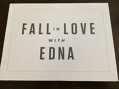 """""""Fall in Love with EDNA"""" Wine sign Edna Valley Vineyard?"""