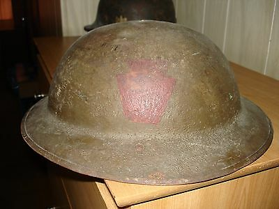 WW1 Helmet 28th Div.