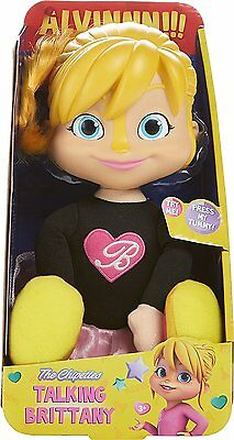 Fisher-Price Alvin & The Chipmunks Talking Brittany Doll  *NEW*