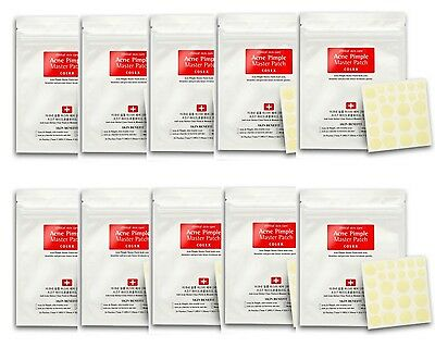 [USPS Shipping] COSRX Acne Pimple Master Patch 24patches X 10 Set Pimple Patch