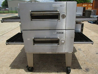 Lincoln Pizza Oven Model 1600 Gas Double Stack
