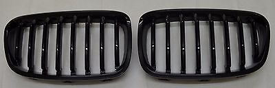 BMW F20 F21 1 Series Gloss Black Kidney Grill Grille 2010 to 2015