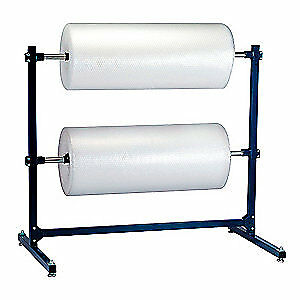 GRAINGER APPROVED Steel Dispenser Stand, 59In Double Roll, 5NWA0