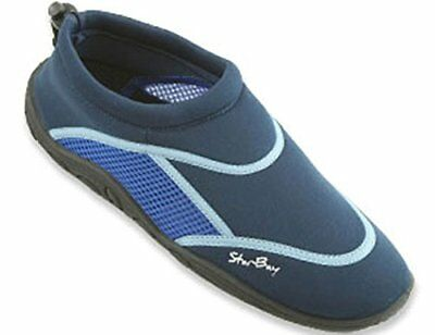 New Starbay Brand Men's Athletic Water Shoes Aqua Socks,12 D(M) US,Blue-5902
