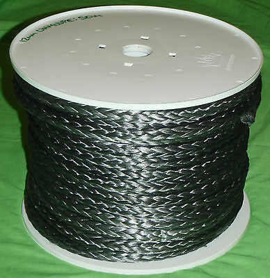 3-14mm UHMWPE Single Braid Synthetic 4WD Boat Trailer Rope Cable *PER METRE*
