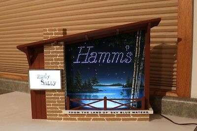 Hamm's Beer Starry Skies Motion Sign
