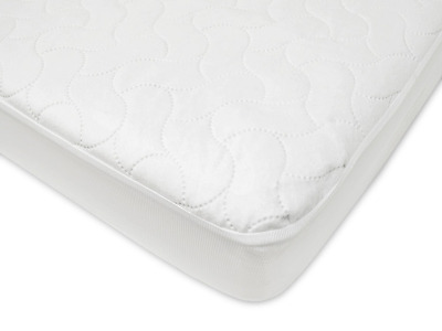 American Baby Company 2863 Waterproof Fitted Crib and Toddler Sheeting Pad (Whit
