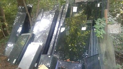 Lot of 100+ Tempered 1/4 glass panals and 1 in double pane windows various sizes