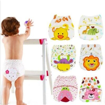 For Pee Potty Toilet Training Infant Panties Nappy Baby Underwear Baby Diapers A