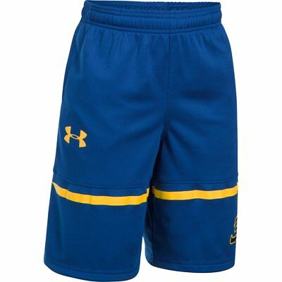 Boy's Under Armour SC30 Spear Shorts Royal/Taxi