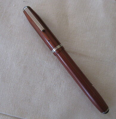 "Esterbrook Copper Icicle LJ Fountain Pen, ""root beer"", Beautiful!"