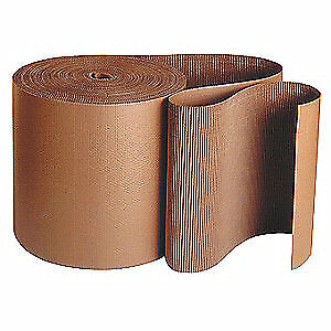 GRAINGER APPROVED Corrugated Roll,250 ft. L x 60 in. W, 36MZ92, Kraft Brown