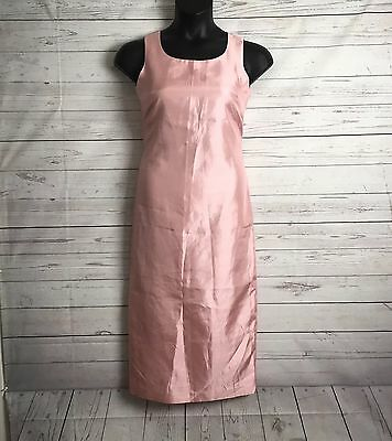 Jessica Howard Dress Size 6 Petite 6P Blush Rose Pink Mother Of The Bride Shift