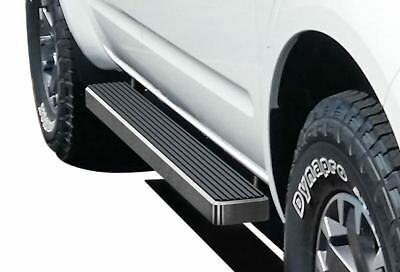 """5"""" iBoard Running Boards Fit 05-17 Nissan Frontier/Equator Crew Cab"""