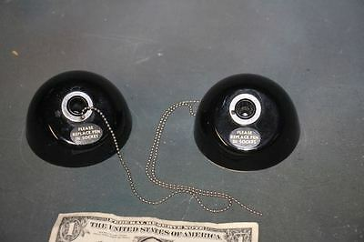 2 Esterbrook #113 Dipless Desk Set Bases Bank Chain Fountain Pen Holder Vintage