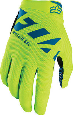 2017 Fox Mtb Ranger Gel Gloves - Flo/yel