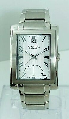 Kenneth Cole Reaction Men's KC3652  Stainless  Steel Band  Watch With 24h Time