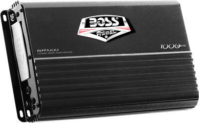 Boss Audio 1000W 4 Channel Amplifier BR1000