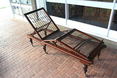 Victorian mahogany campaign bed - Reduced from $2500