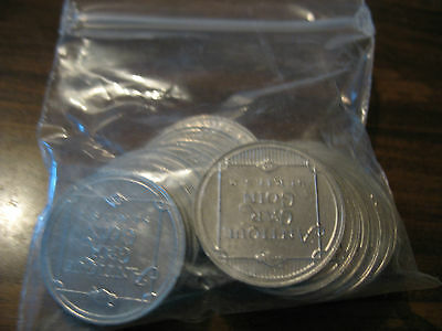 Sunoco Dx Lot Of 19 Antique Car Coins Series 2 Nice No Res