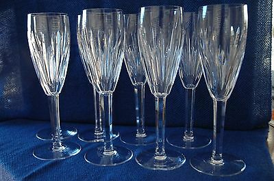 Waterford Crystal 'carina' Wine Glass Flute X 8
