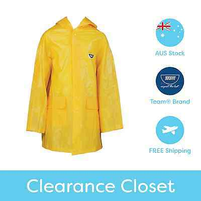 Team® Girls Boys Kids School Yellow Rain Rain Jacket/Raincoat - Quality Design