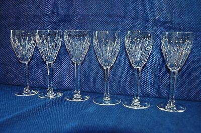 Waterford Crystal 'carina' Glass Sherry X 6