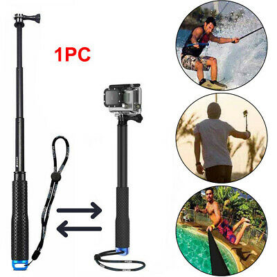 Waterproof Monopod Tripod Selfie Stick Pole Handheld fit Gopro Hero 4 3 3+ 2 1