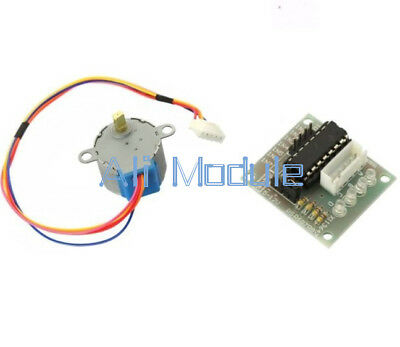 12V Stepper Motor 28BYJ-48 With Drive Test Module Board ULN2003 5 Line 4 Phase A