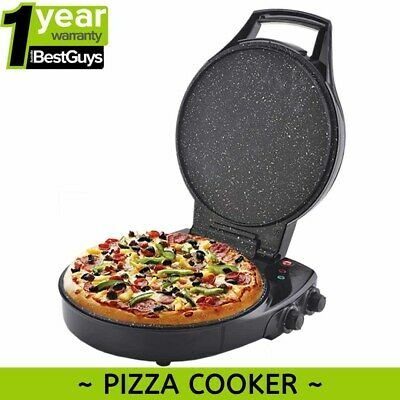 Pizza Maker Cooker Mini Oven Homemade Oven Electric Stone Bake 12 Month Warranty