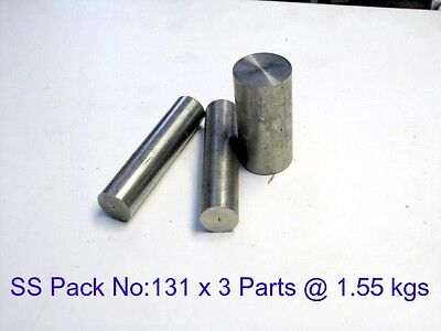 Stainless Steel Pack No:- 131 x 3 Parts-Lathe-Weld-Steam-Mill