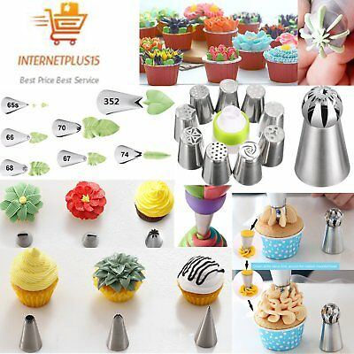 Sphere Ball Russian Icing Piping Nozzles Tips Cake Decorating Baking Tools AG