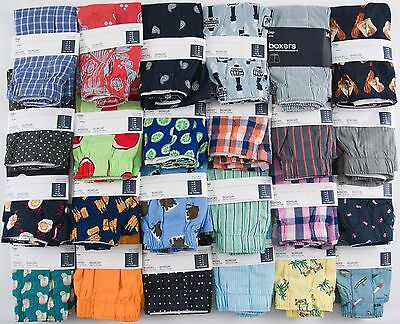 NIP Mens GAP Boxers S M L XL 100% Cotton Choose Size/Pattern