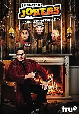 Impractical Jokers: The Complete Fourth Season (DVD, 2016, 3-Disc Set)