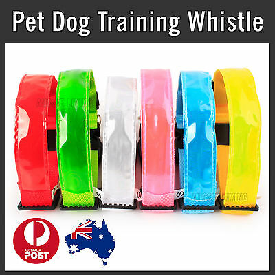 NEW LED Glow Collar Dog Puppy Pet Tag Flashing Light Safety Nylon leash harness