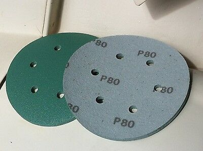 "50 x 6 inch (150mm) DA Sanding Disc ..TRADE QUALITY  ""hook & loop"""