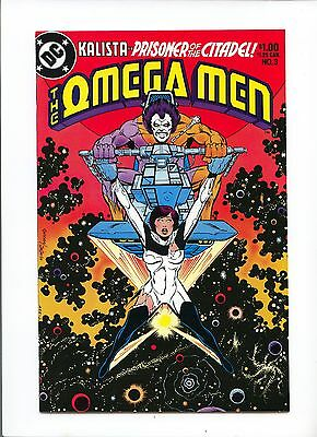 The Omega Men #3 NM 9.4 First Appearance of Lobo, Key Book