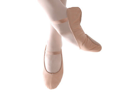 NEW Ballet Shoes Leather (Pink) - Full Sole
