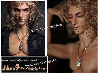 1/4 SD BJD Doll PHILLIPPE – FASHION (44CM) Free FaceUp Additional accessories