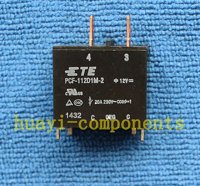 1pcs ORIGINAL PCF-112D1M-2 TE 12VDC Relay NEW