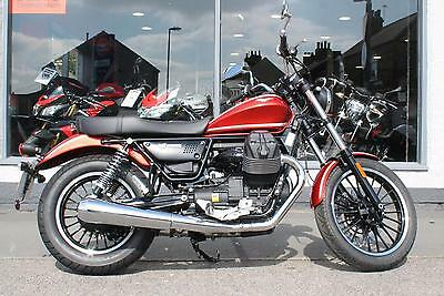 2017 Moto Guzzi V9 Roamer in RED at Teasdale Motorcycles, Yorkshire