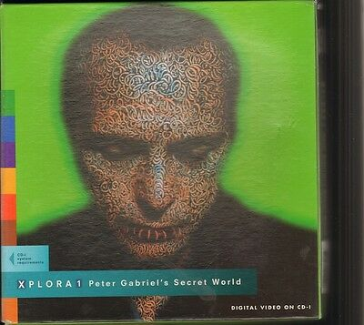 PETER GABRIEL's Secret World XPLORA 1 CD-I 1994 BOX