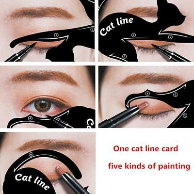 Quick Eyeliner Stickies Cat Sharped Makeup Stencil Cosmetics Makeup Tool LH