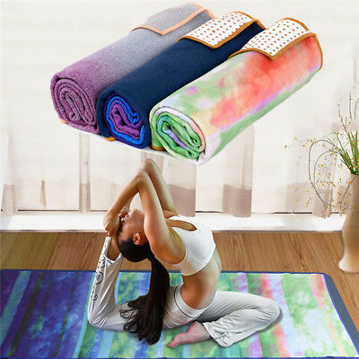 Non-slip Yoga Mat Lightweight Insanely Absorbent Microfiber Towel+Carrying Bag