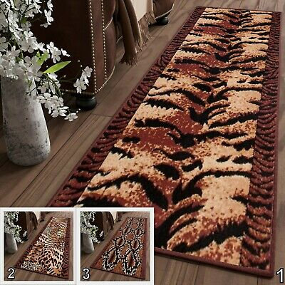New Very Long Cheap Soft Runners For Hallway Hall Animal Skin Brown 70 CM WIDTH