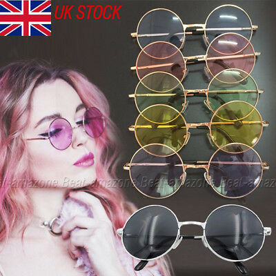 Circle Round  Vintage Retro Fashion Cyber Hipster Hippie Sunglasses Oversized UK