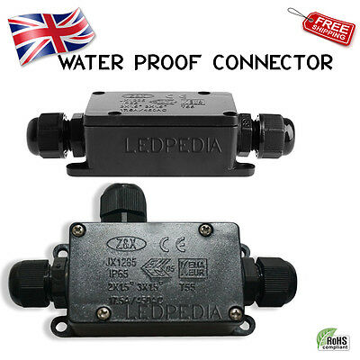 UK Outdoor waterproof IP65 cable wire connector junction box suitable for 240V